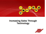 Increasing Sales Through Technology